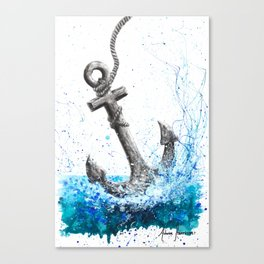 Sea Anchor Canvas Print