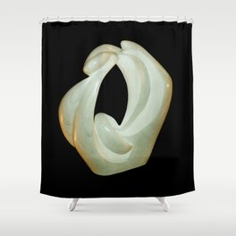 Eroticism by Shimon Drory Shower Curtain