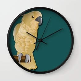 Ivory the Bird Wall Clock