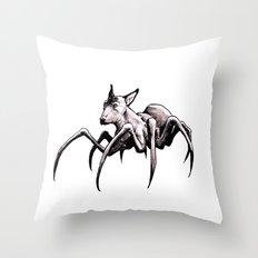 Spider-Dog Throw Pillow