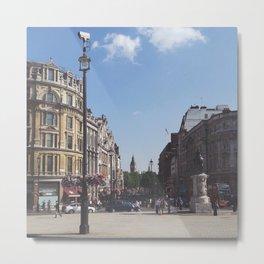 Big Ben From Trafalgar Square, London Metal Print