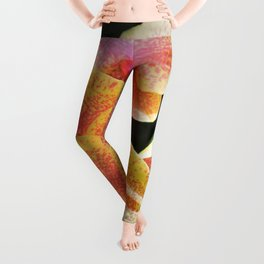 Yellow Orchids Leggings