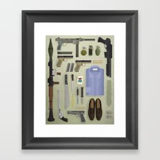 Organized Chaos Framed Art Print