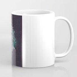 Saber-toothed Serpent in Space. Coffee Mug