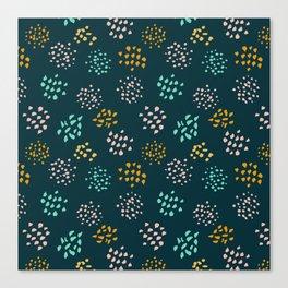 Confetti pattern Canvas Print