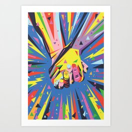 Band Together - Pride Art Print