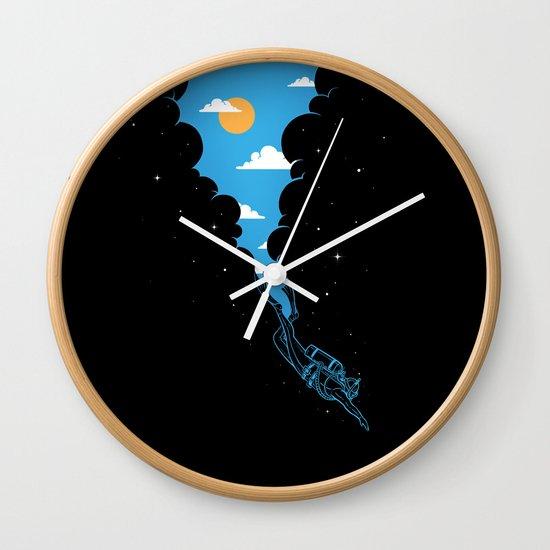 Skydiver Wall Clock
