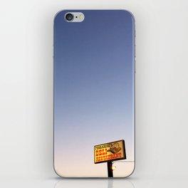 Ferrarese's Deli Sign – Oakdale, California, USA iPhone Skin