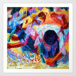 Umberto Boccioni Street Pavers Art Print