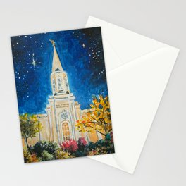 St Louis Missouri LDS Temple Stationery Cards