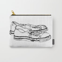 Old Friends Doodle Carry-All Pouch