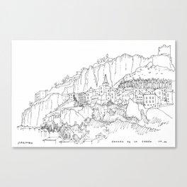 Zahara De La Sierra Canvas Print