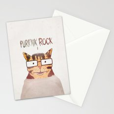 PURR'NK ROCK Stationery Cards