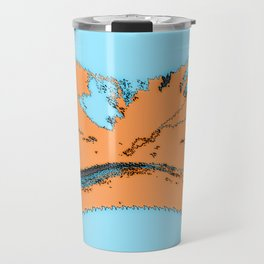 "Gloria J Zucaro's ""Continent"" Travel Mug"
