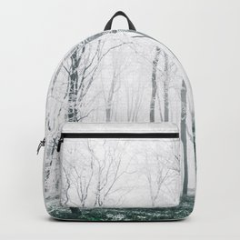 White forest Backpack