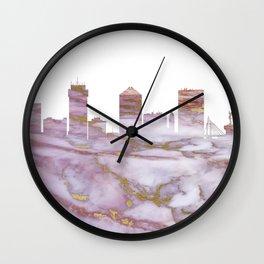 Wichita Kansas Skyline Wall Clock