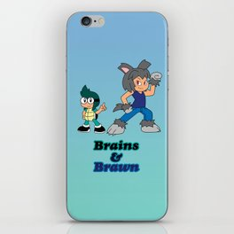 Shiro and Mike-Brains and Brawn iPhone Skin