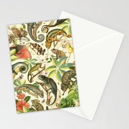 Chameleon Party Stationery Cards