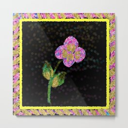 Naif Flower Metal Print