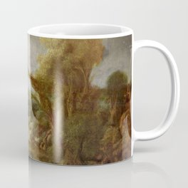 Stolen Art - Landscape with an Obelisk by Govert Flinck Coffee Mug