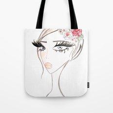 Flowers in  the hair Tote Bag
