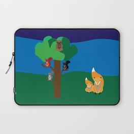 A woodland scene Laptop Sleeve