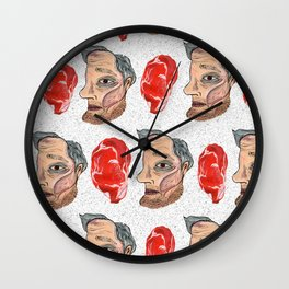 Meat Man Wall Clock