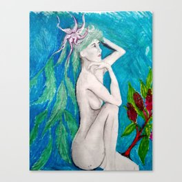Willow Woman Canvas Print