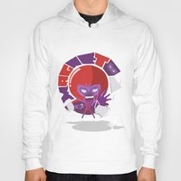 magneto Hoodies featuring Magneto (style) by Seez