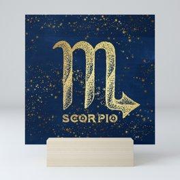 Scorpio Zodiac Sign Mini Art Print