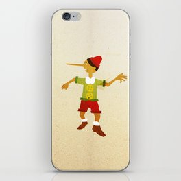Pinocchio iPhone Skin