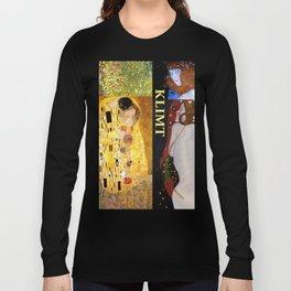 Klimt Collage Long Sleeve T-shirt