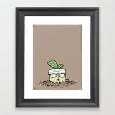 Square Root Framed Art Print
