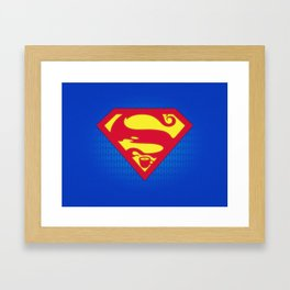 Super Strong Coffee Framed Art Print