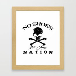 kenny chesney no shoes nation tour koplaks Framed Art Print