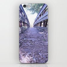 Path less travelled iPhone & iPod Skin
