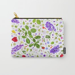 Leaves and flowers (14) Carry-All Pouch