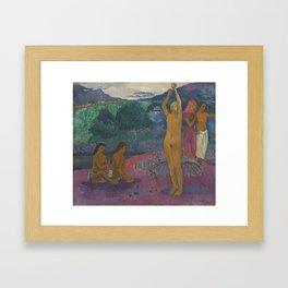 Paul Gauguin - The Invocation Framed Art Print