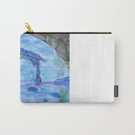 Underwater Chinese Ruins Carry-All Pouch