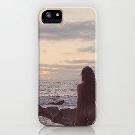 Sunrise walk iPhone Case