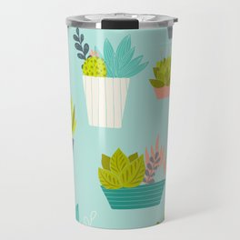 Succulent Container Garden Travel Mug