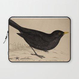 Naturalist Blackbird Laptop Sleeve