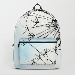 Dandelion Waiting for a Breeze Backpack