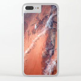 Richat Structure Clear iPhone Case