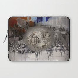 The surface etch Laptop Sleeve