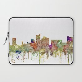 Lubbock, Texas Skyline - Faded Glory Laptop Sleeve