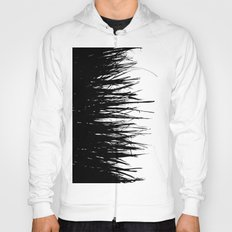 Concrete Fringe Black on Side Hoody