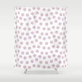 Pig Pattern Shower Curtain