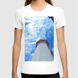 North Cape Lighthouse and Communication Tower T-shirt