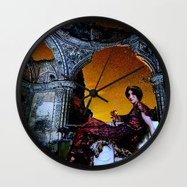 The Night of Forgotten Songs Wall Clock